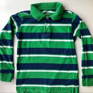 Fladed Glory Green & Blue Polo Shirt (Boys 6/7)